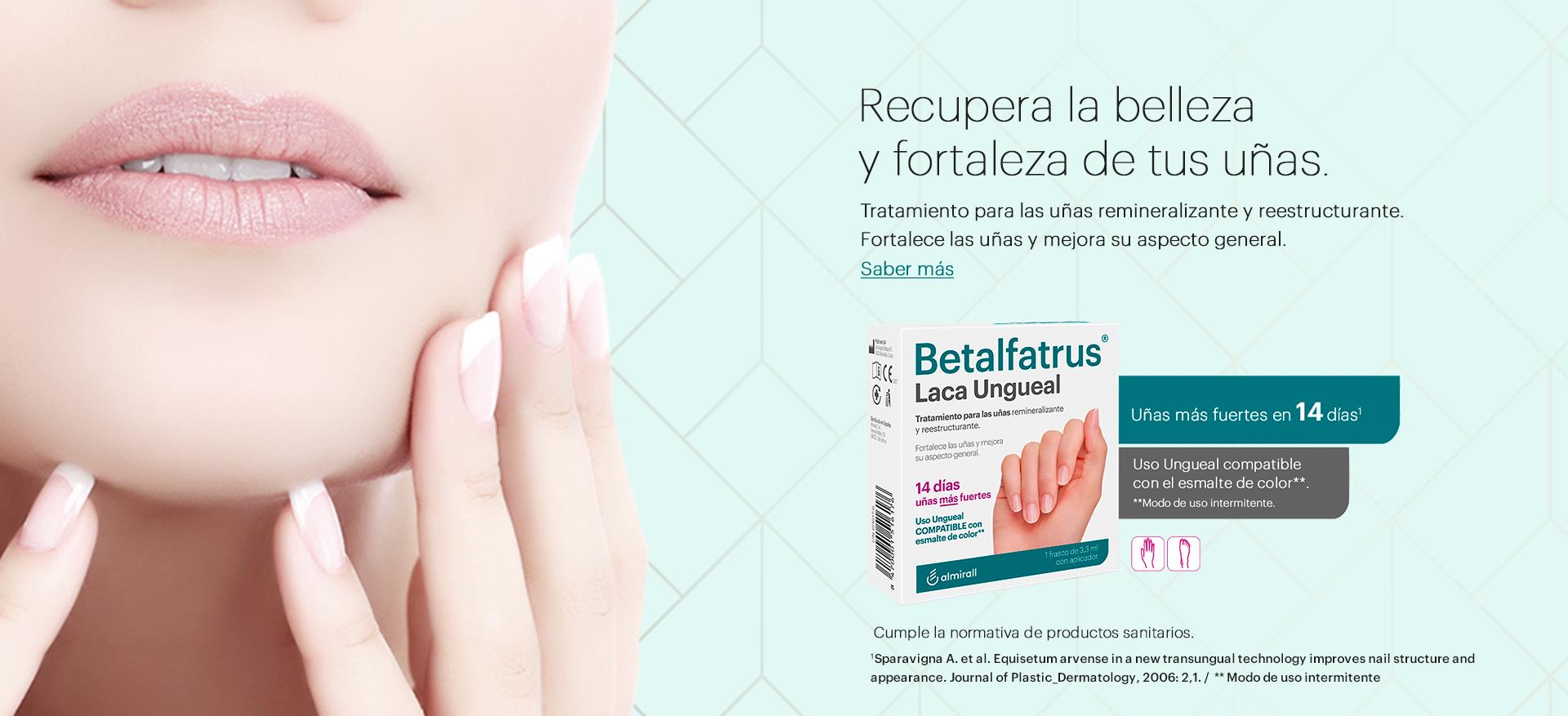 Betalfatrus, recupera la belleza y fortaleza de tus uñas